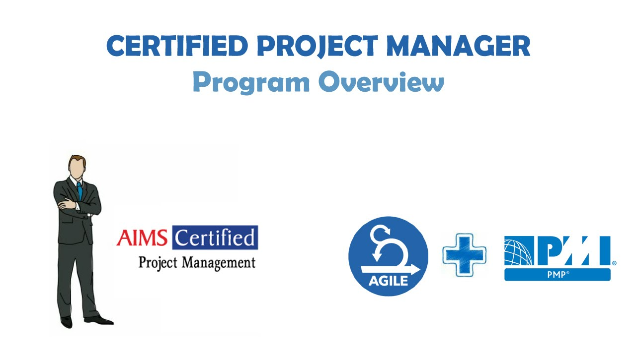 Certified Project Manager Cpm Certification With Pmp Agile